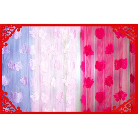 butterfly lace curtains ct002 butterfly lace curtain