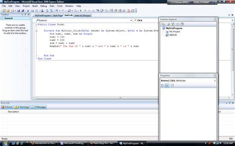 tutorial visual basic net 2008 pdf visual basic visual basic 2008 tutorial