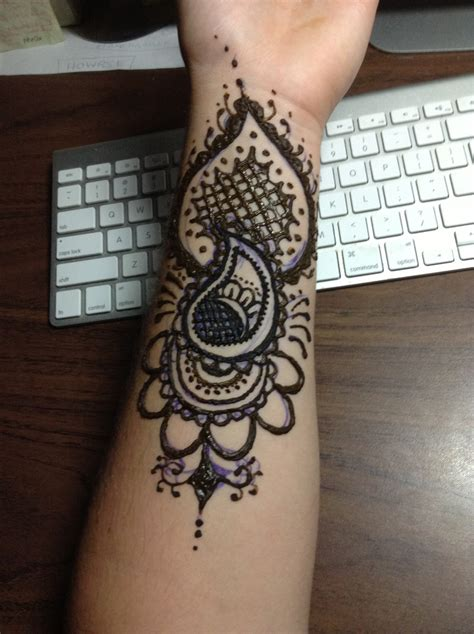 henna tattoo on arm henna arm tattoo by blackwaterpanther on deviantart