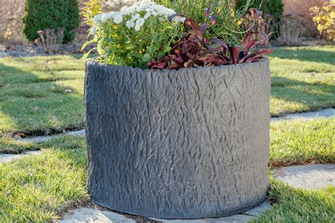 tree trunk planter cre8play