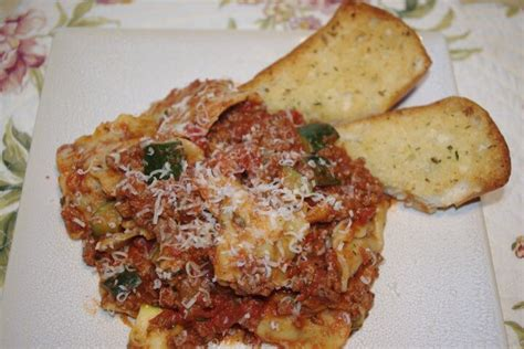 italian dinner recipes dinner italian ground beef ravioli dinner recipe