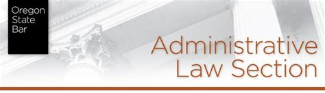 law section administrative law section administrative law