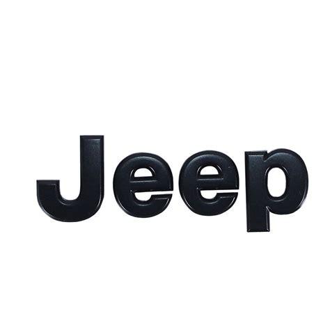 jeep logo black mopar 68185492ab jeep emblem chrome cj pony parts