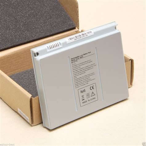 Macbook Pro A1150 apple macbook pro a1175 a1150 ma348 replacement battery
