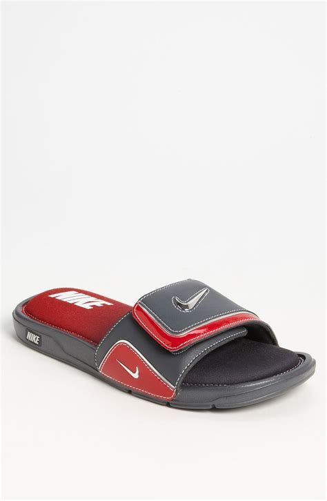nike slides comfort 2 nike comfort slide 2 slide in red for men dark shadow