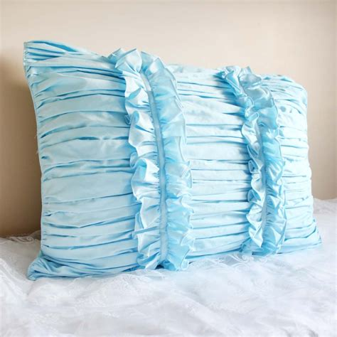 Ruched Pillow Sham by Ruched Pillow