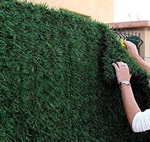 Sichtschutz Maschendrahtzaun Kunststoff by Artificial Hedge Conifer Slats Panels For Chain Link
