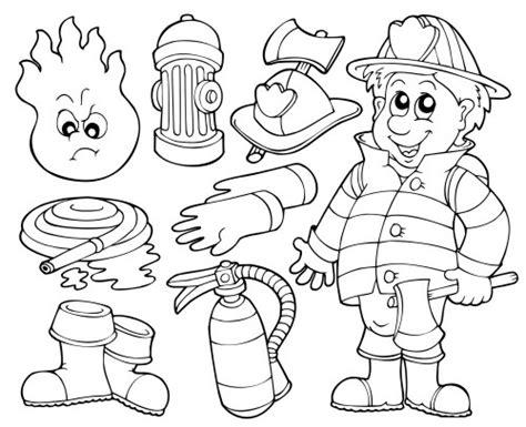 firefighter coloring pages kindergarten fireman coloring pages free printable enjoy coloring