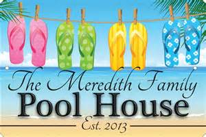 pool house novelty custom signs personalized signs