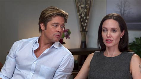 In Style Now Angie Tells Brad Lets Get Married by Brad Pitt Open Up On Marriage Health In