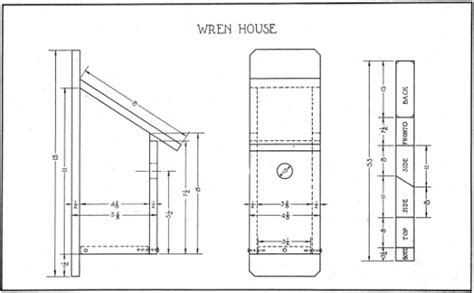 wren house plans pdf step by step woodyworking more bird house plans for house