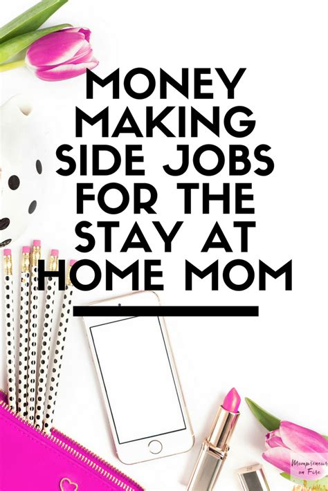 stay at home design jobs money making side jobs for the stay at home mom