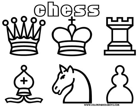 free coloring pages board game chess coloring page for kids board games children s