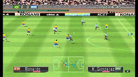 winning eleven 2002 mem 243 ria gamer 1 winning eleven 2002 ps1 youtube