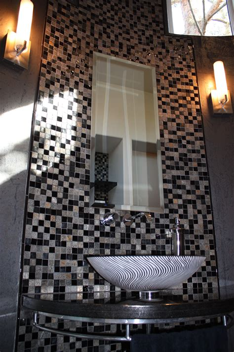 black and silver bathroom tiles bath tile designs that transform a bathroom 18631