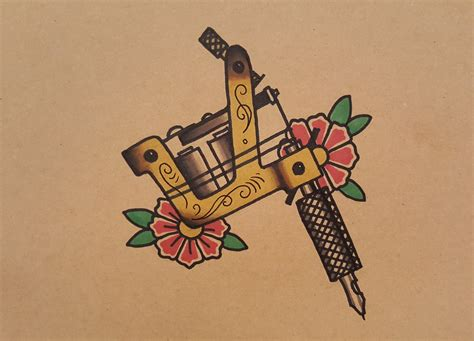 tattoo machine drawing machine design www pixshark images
