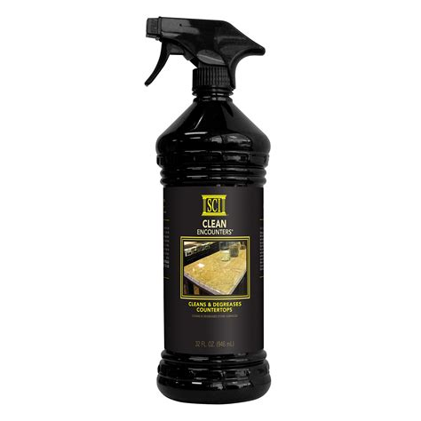 Clean Encounters Countertop Spray Cleaner by Sci Clean Encounters Countertop Cleaner 32 Fl Oz 32 Ounce