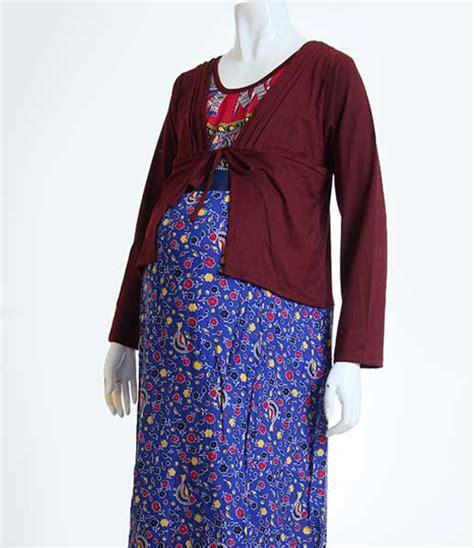 Baju Muslim Batik Ibu Model Baju Batik Gamis Muslim Terbaru 2015