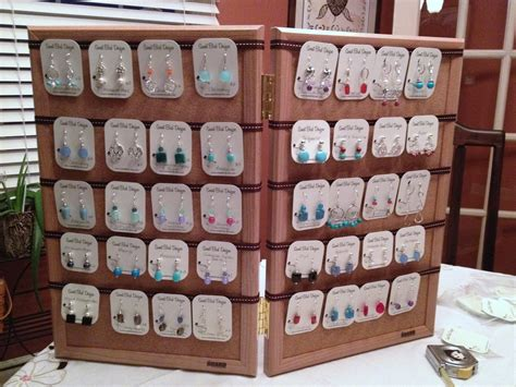 diy jewelry display for craft shows birdy chat diy craft show earring display