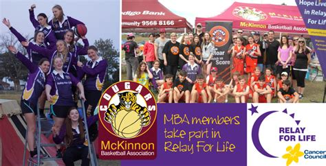 Mba Members List by Mba Members Take Part In Relay For Mckinnon