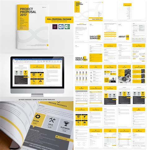 layout project proposal 15 best business proposal templates for new client projects