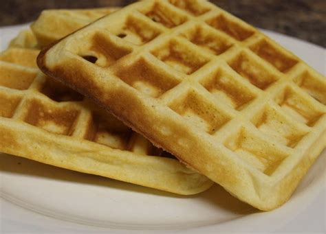 easy waffles recipe dishmaps