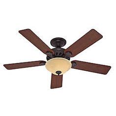are hunter fans good hunter claremont 52 in brushed new bronze ceiling fan