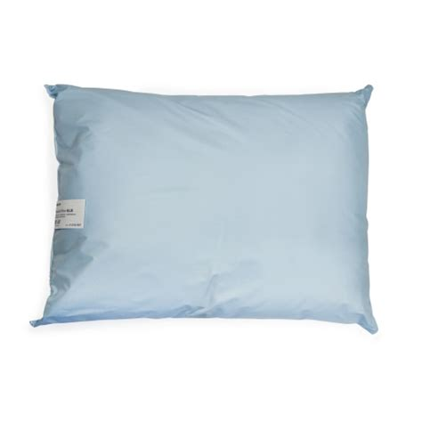 discount bed pillows bettymills bed pillow 20 quot x 26 quot blue reusable mckesson