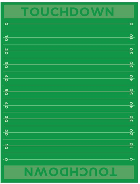 Football Field Template