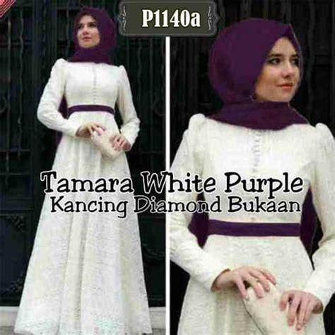 Gamis Pesta Furesa Maroon Set Maxi Kaftan baju muslim brokat tamara white p1140a gamis pesta