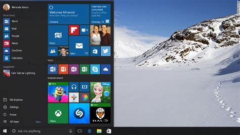 start menu doesnt open in windows 10 tech preview windows 10 s make or break feature the start menu