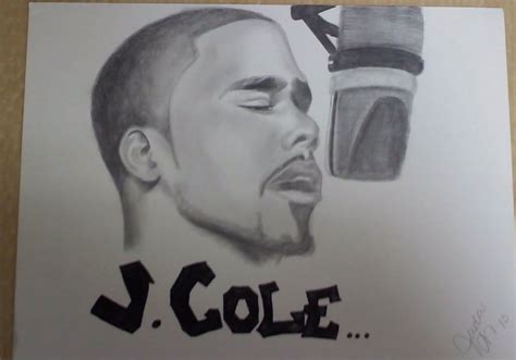 Drawing J Cole by J Cole By Buttagirl16 On Deviantart