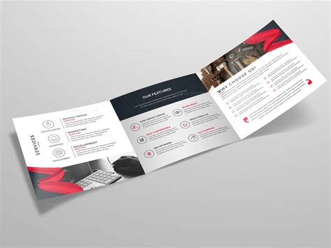 tri fold business brochure template tri fold stylish business brochure template template catalog