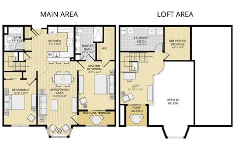 2 bedroom floor plan with loft 2 bedroom rockland county ny luxury apartment rentals parkside at