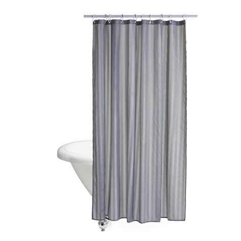 wilko shower curtain wilko grey stripes shower curtain at wilko com