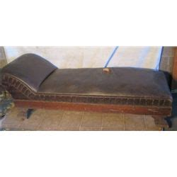 leather fainting couch leather antique fainting couch out of malones