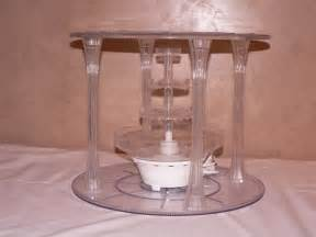 Noritake Vases Cake Stand Clear Acrylic With Fountain Affordable