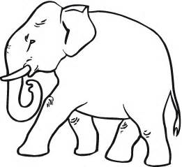 what color is an elephant free elephant coloring pages
