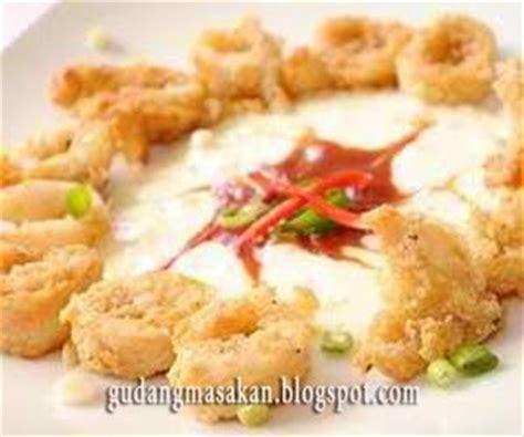 Minyak Ikan Lemuru resep masakan seafood goreng saus tartar gudang resep