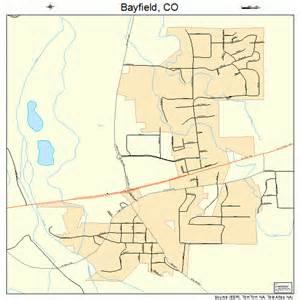map of bayfield colorado bayfield colorado map 0805265