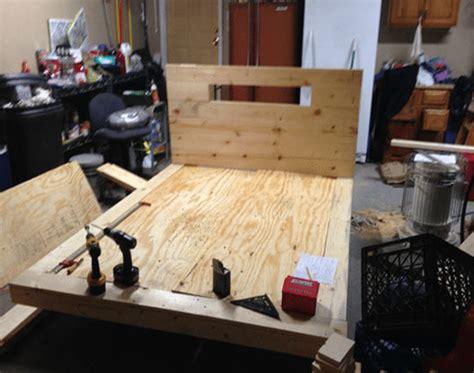 strutture letto fai da te come costruire un letto con le 12 foto bonkaday
