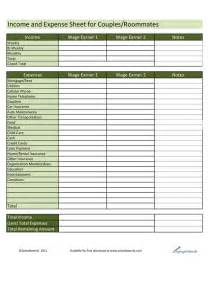 Income Expense Sheet Template by Income And Expense Worksheet Abitlikethis