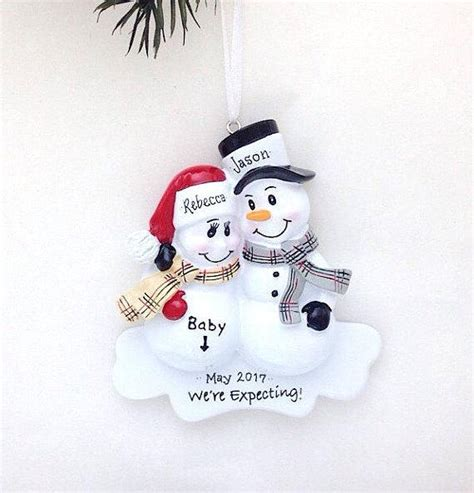christmas ornaments for ecpecting parents expecting parents ornament we re expecting