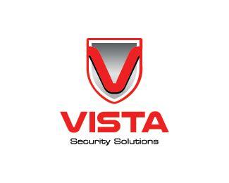 logo design vista vista security designed by logobrainstorm brandcrowd