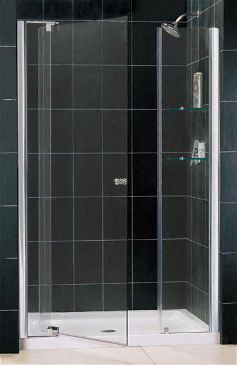 3 8 Glass Shower Door Frameless Pivot Shower Door Clear 3 8 Quot Glass Door Contemporary Shower Doors By
