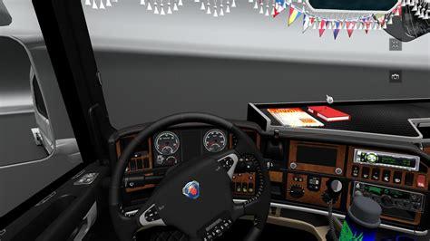 scania vrachtwagen interieur scania r interior euro truck simulator 2 mods