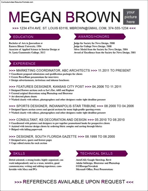 resume templates for it professionals resume templates for it professionals free free