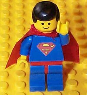 Kaos Lego Graphic 06 Superman your is in my bushes a superman without a home
