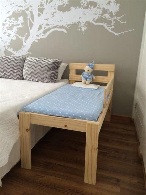 gorgeous pine toddler  sleeper bed