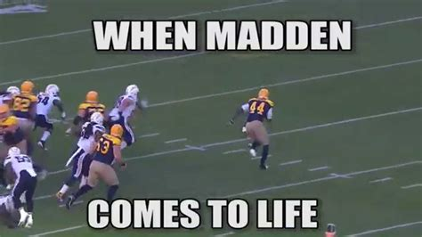 Madden Meme - when madden comes to life meme week 6 nfl youtube